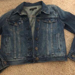 JCrew Indigo Denim Jacket w/ Buttons and Pockets